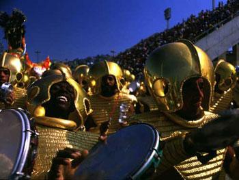 Brazil Rio Carnival parade image