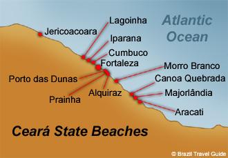 Ceara State Beaches