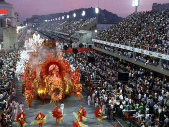 Image of the Brazilian Carnival in Rio